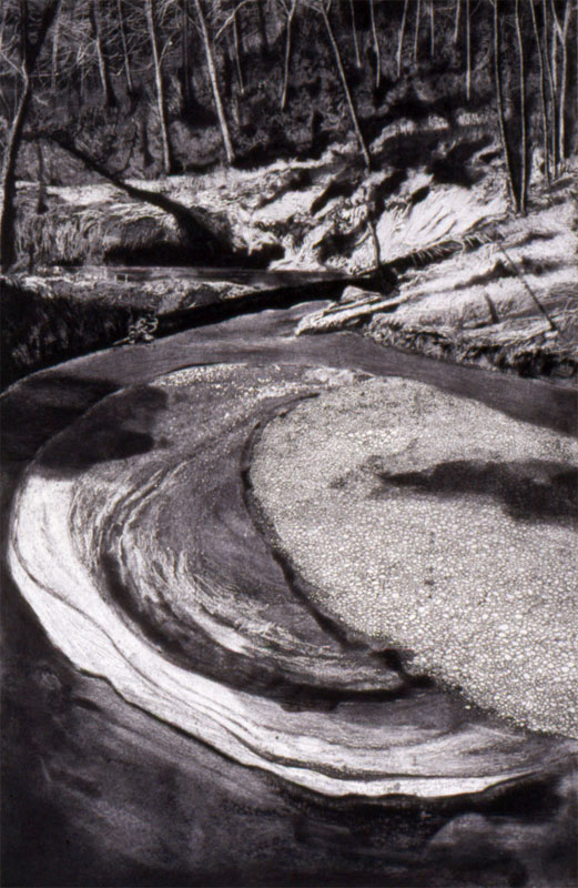 6-etching-Gravel-Bar-Tryon-Creek-2003