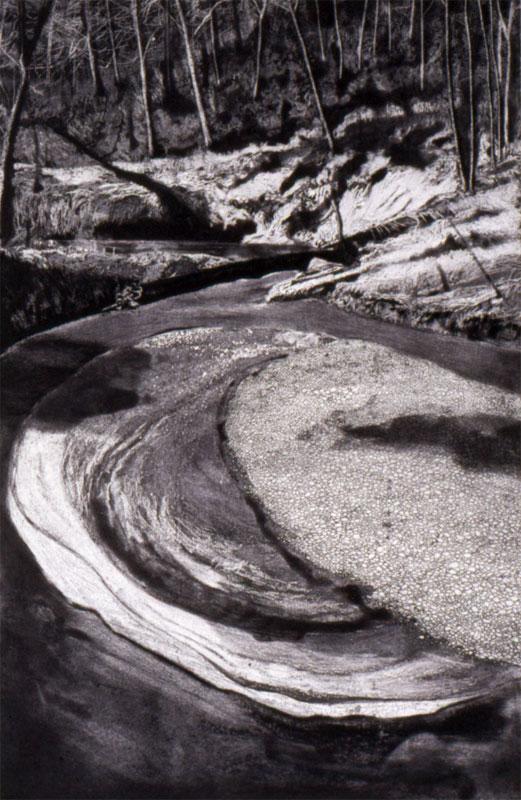6-etching-Gravel-Bar-Tryon-Creek-2003